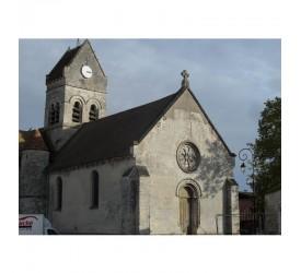 Fleury : L'église Saint-Marcel