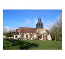 Le Mesnil-Théribus : Eglise...