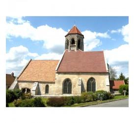 Foulangues : L'église...