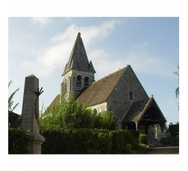 L'église Saint-Aubin