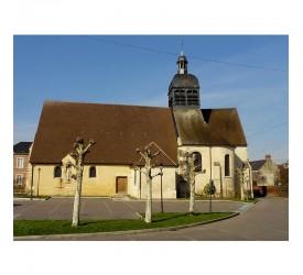 Bornel : L'église...