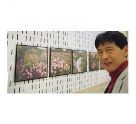 Seiichi, peintre de Gisors