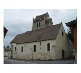Trie-la-Ville : L'église...