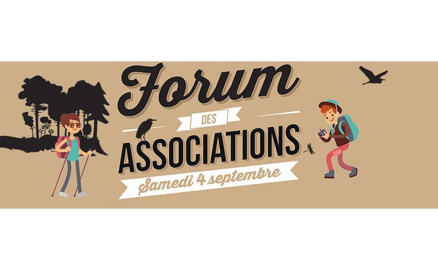 Forum des Associations le 4 semptembre 2021